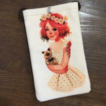 کیف گردنی موبایل دخترانه